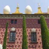 Voorgevel van Dali Museum in Figueres Royalty-vrije Stock Afbeeldingen