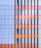 Voorgevel van de moderne eigentijdse bouw Royalty-vrije Stock Afbeeldingen