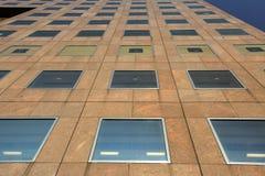 Voorgevel van een commercieel gebouw royalty-vrije stock foto's