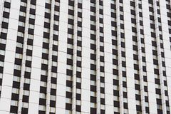 Voorgevel van een moderne wolkenkrabber, achtergrond, textuur royalty-vrije stock foto