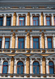 Voorgevel van het inbouwen van Kiev, de Oekraïne Stock Afbeelding
