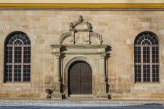 Voorgevel van het kasteel van Tübingen (Tübingen) royalty-vrije stock foto