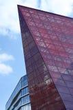 Voorgevel van het moderne gebouw van glas en metaal Royalty-vrije Stock Afbeeldingen
