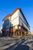Voorgevel van het Museum van Moderne Kunst in Frankfurt-am-Main Royalty-vrije Stock Foto's