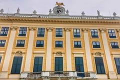 Voorgevel van het paleis royalty-vrije stock foto