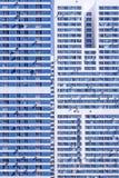 Voorgevel van high-rise flatgebouw Royalty-vrije Stock Afbeeldingen