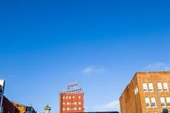 Voorgevel van historisch hotel St. James Royalty-vrije Stock Fotografie