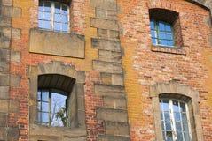 Voorgevel van Saloppe waterleidingsbedrijf-I-Dresden Royalty-vrije Stock Afbeeldingen