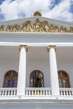 Voorgevel van Teatro-Sucre Royalty-vrije Stock Foto's