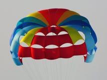 Voorgrond van het parasailing van sport Stock Afbeeldingen