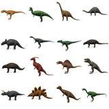 Voorhistorische dinosaurussen Royalty-vrije Stock Foto's
