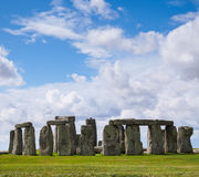 Voorhistorische Monument van Stonehenge het Bevindende Stenen Stock Foto