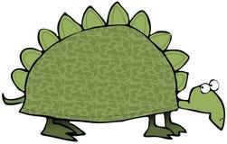 Voorhistorische Schildpad royalty-vrije illustratie