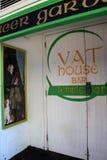 Vooringang aan de Bar van het Vathuis, in het hart van Dublin, Ierland, November, 2014 Royalty-vrije Stock Foto