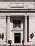 Vooringang van Vrijmetselaarszaal royalty-vrije stock afbeeldingen