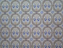 Voormuurtegels in $c-andalusisch Dorp Stock Afbeelding