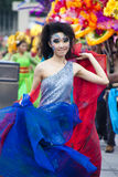 Voorproef van Chingay Parade 2011 Royalty-vrije Stock Foto's