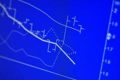 Voorraad die Grafiek analyseert Stock Foto's