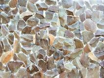 Voorraad van de de steen de materiële foto van de muurrots Royalty-vrije Stock Afbeeldingen