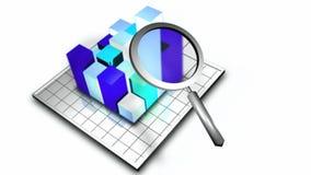 Voorraadanimatie van 3D Grafiek royalty-vrije illustratie