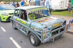 Voorraadauto bij Motormanie royalty-vrije stock foto's