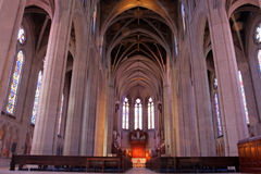 Voorraadbeeld van Grace Cathedral, San Francisco, Californië, de V.S. Royalty-vrije Stock Fotografie