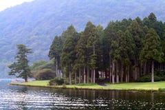 Voorraadbeeld van Meer Hakone, Japan Royalty-vrije Stock Foto