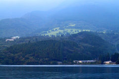 Voorraadbeeld van Meer Hakone, Japan Stock Foto