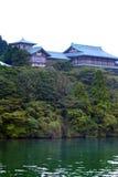 Voorraadbeeld van Meer Hakone, Japan Stock Afbeeldingen