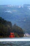 Voorraadbeeld van Meer Hakone, Japan Royalty-vrije Stock Afbeelding