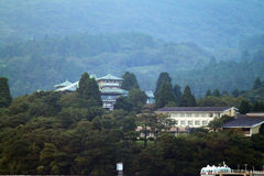 Voorraadbeeld van Meer Hakone, Japan Royalty-vrije Stock Afbeeldingen