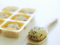 Voorraadfoto - de broodjes van het Papaverbrood stock foto