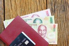 Voorraadfoto - de Vietnamese bankbiljetten van muntdong royalty-vrije stock afbeeldingen