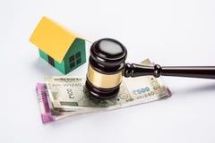 Voorraadfoto van India en onroerende goederenwet, Indische wet voor onroerende goederen/bouwbedrijf/architecten/bouwers of kopers Royalty-vrije Stock Afbeelding