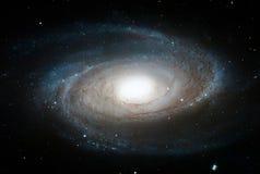 Voorspel de Melkweg van ` s, M81, Spiraalvormige melkweg in de constellatie Ursa Major royalty-vrije stock foto