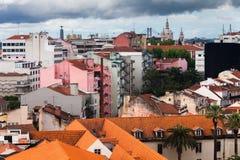 Voorstad van Lissabon Stock Foto's