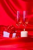 Voorstel van huwelijksstilleven Royalty-vrije Stock Foto's