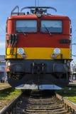 De locomotief van de trein Royalty-vrije Stock Foto's