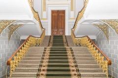 Voortrap met tapijt royalty-vrije stock fotografie