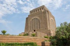 Voortrekker纪念碑在比勒陀利亚Tshwane南部在Gau 库存图片