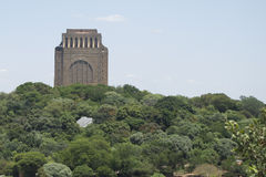 Voortrekker monument royalty free stock photography