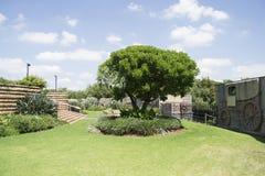 Voortrekker monument gardens Royalty Free Stock Photos