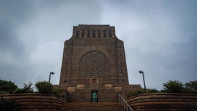 Voortrekker monument pretoria. Heritage afrikaans overcast architecture Royalty Free Stock Images