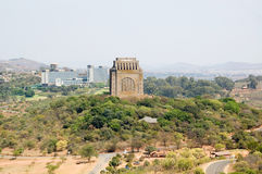 Voortrekker Monument, Pretoria, South Africa. The Voortrekker Monument on Monument Hill in Pretoria, South Africa as seen from Fort Skanskop Royalty Free Stock Image