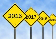 2016 vooruit Stock Foto's