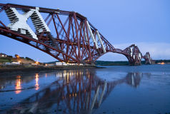 Vooruit de Brug van de spoorweg (Edinburgh) Stock Fotografie