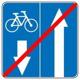 Vooruit slechts, drijven één manierverkeersteken, de Rechte Vectorillustraties van het Pijlverkeer stock illustratie