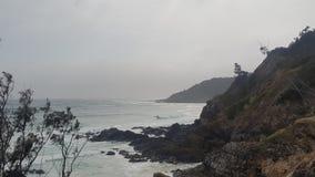 Vooruitzicht in Byron Bay royalty-vrije stock fotografie