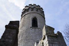 Vooruitzicht Ded met blauwe hemelachtergrond dichtbij de Tsjechische republiek van Beroun Royalty-vrije Stock Foto's