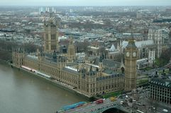 Vooruitzichten over de Big Ben Royalty-vrije Stock Foto